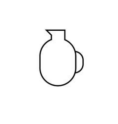 Jar icon vector