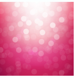 Pink blurred background vector