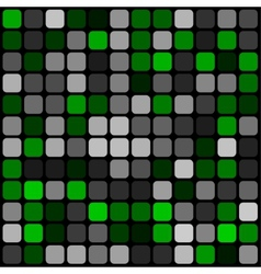 abstract pattern rounded squares with black grille vector image vector image