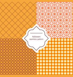 autumn seamless patterns autumn seamless vector image vector image