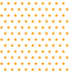 Cute stars pattern background vector