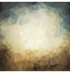 polygonal grunge background vector image vector image