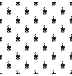 Toy bucket and shovel pattern vector