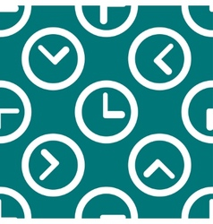 Watch web icon flat design Seamless pattern vector image