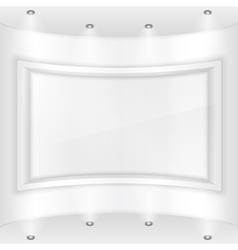 Gallery vector image