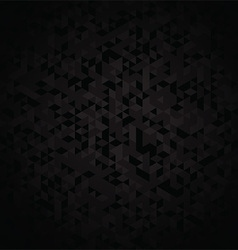 Dark geometric background vector