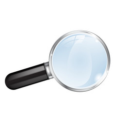 Magnifier magnifying glas vector