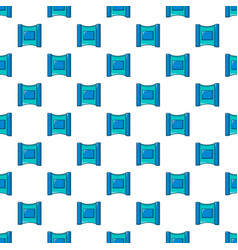 Wet wipes package pattern seamless vector
