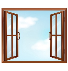 A house window vector