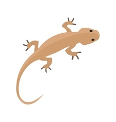 Pet lizard vector