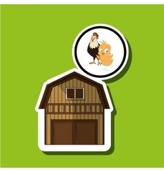 Farm design animal icon nature concept vector