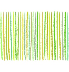 irregular green yellow lines pattern over white vector image vector image