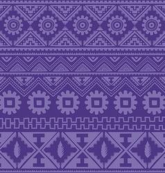 purple native american ethnic pattern vector image
