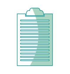 Clipboard document list paper work vector