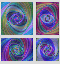 Colorful motion design brochure background set vector