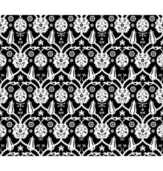 Floral arabic pattern vector image