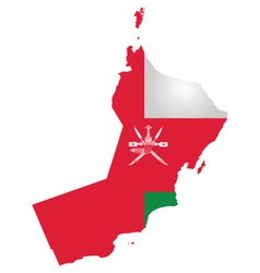 Oman flag vector