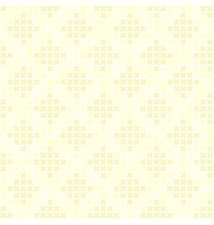 yellow abstract diamond pattern seamless vector image