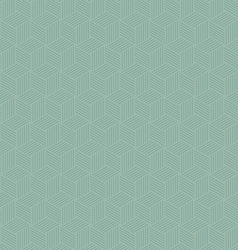 Abstract geometric hexagon repeating seamless vector image vector image