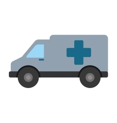Ambulance emergency clinic help transport vector