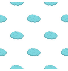 Cloud pattern flat vector