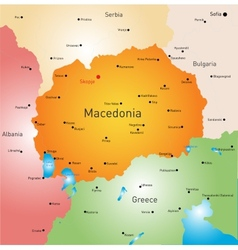 Macedonia vector