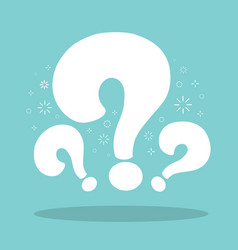 Question mark background vector