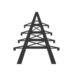 Tower power energy technology icon graphic vector