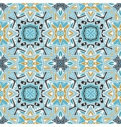 Abstract seamless ornamental tiles pattern vector