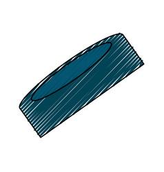Hockey puck isolated vector