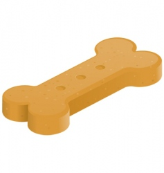 Dog treat vector