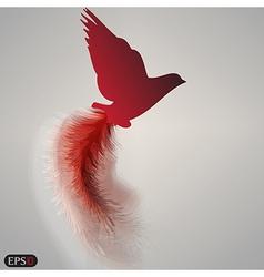Bird of paradise vector