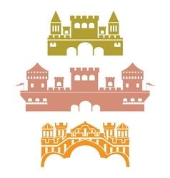castle2 vector image vector image