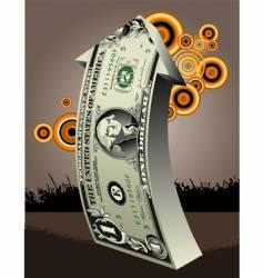 Dollar-arrow vector