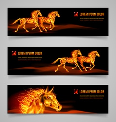 Flaming speed vector image