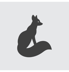 Fox icon vector image