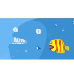 Marine predators vector