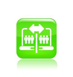 Web sharing icon vector