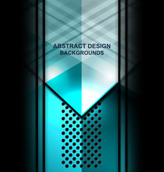 Abstract template design vector