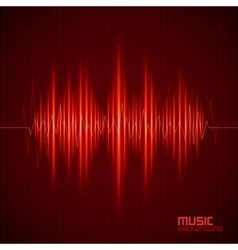 Music background with equalizer vector