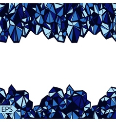 Abstract crystal jewelry background vector