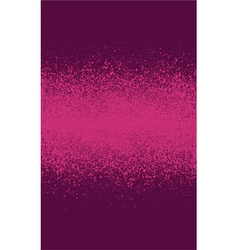 graffiti spray effect gradient element in burgundy vector image