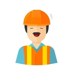 Worker construction builder vector
