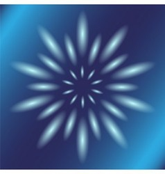 Dotted ray circular light blue background vector