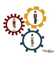 Business design vector image