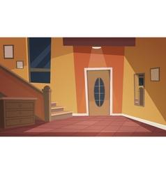 Cartoon interior vector