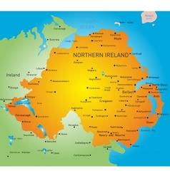 Northen ireland vector