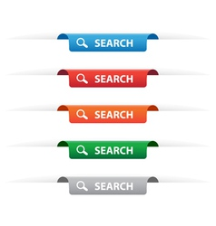 Search paper tag labels vector image