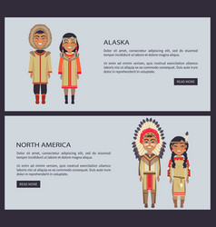 alaska and north america web vector image vector image