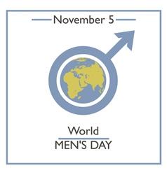 Men Day vector image vector image